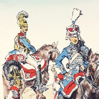 Planche 90 - Heer Und Tradition - Hans Bauer - Uniforme - Bayerischen Kavallerie - 1798-1815 - Die Historische Uniformierung