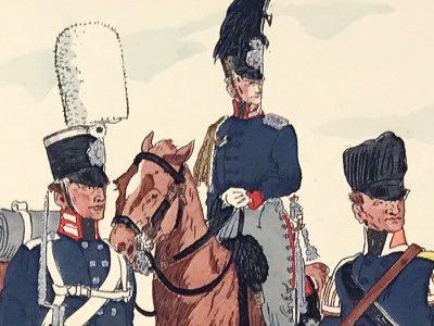 Planche 36 - Heer Und Tradition - Hans Bauer - Uniforme - Preussischen Infanterie - 1808-1814 - Die Historische Uniformierung
