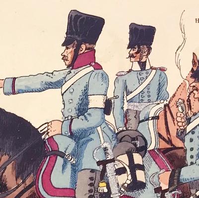 Planche 60 - Heer Und Tradition - Hans Bauer - Uniforme - Preußischen Dragoner - 1808 -1819 - Die Historische Uniformierung