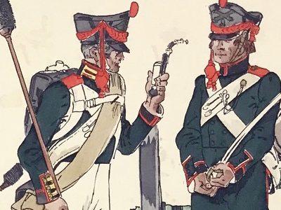 Planche 26 - Heer Und Tradition - Hans Bauer - Uniforme - Russische Artillerie - 1812-1814 - Die Historische Uniformierung