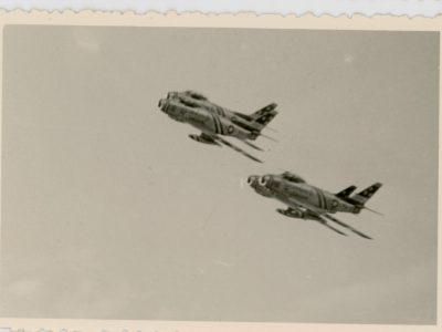 44 snapshot - French Air Show 1952 by an Aircraft Lover's. - Aviation - Air Show - Meeting Aérien 1956 - Alsace Entzheim