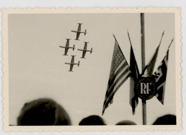 44 snapshot - French Air Show 1952 by an Aircraft Lover's. - Aviation - Air Show - Meeting Aérien 1956 - Alsace Entzheim