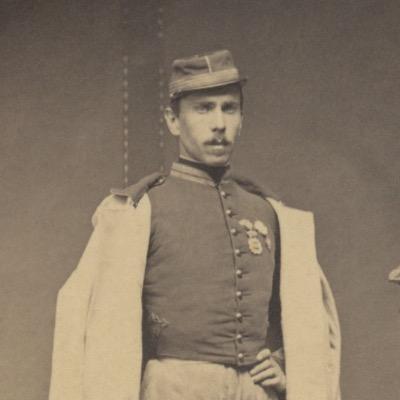 CDV - Ancienne Photographie - Portrait Officier Cent Garde - Légion d'Honneur - Second Empire - Napoleon III