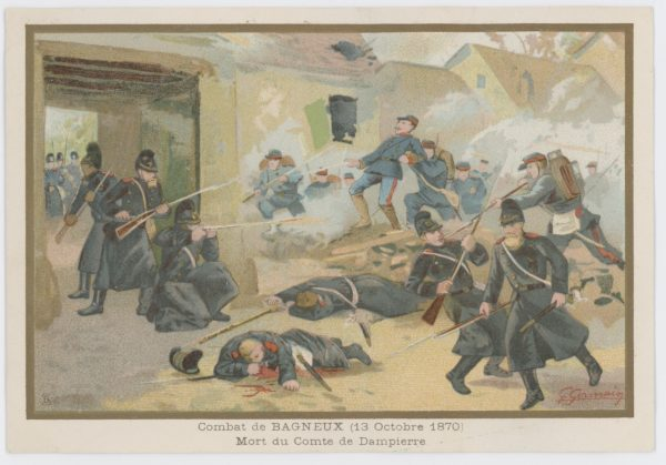14 chromos imagerie - Armée Française - Uniforme - Second Empire - Historique - Soldat - Infanterie - Franco-prussian war 1870/1871