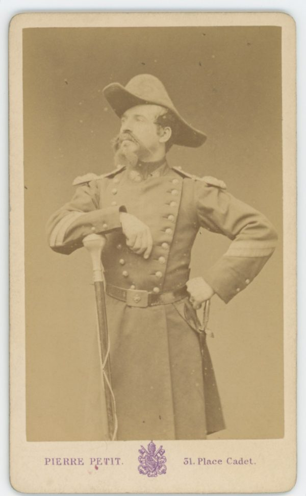 CDV Second Empire - Ancienne Photographie - Acteur Théâtre - Caporal Tambour - Napoléon III - Uniforme