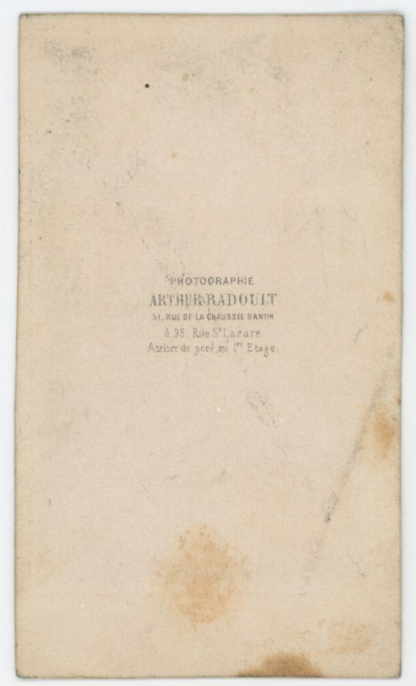 CDV Second Empire - Ancienne Photographie - Acteur Théâtre - Grognard - Garde Impériale - Napoléon 1er - Uniforme