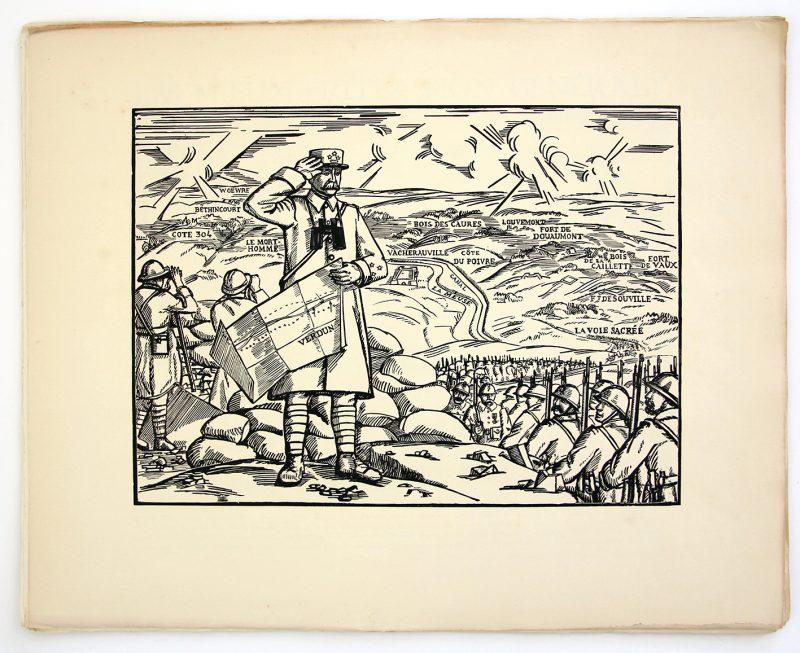 Suite de 12 planches - PHILIPPE PETAIN - Imagerie du Maréchal imprimé à Limoges en 1941 - Imagerie Populaire - Verdun -