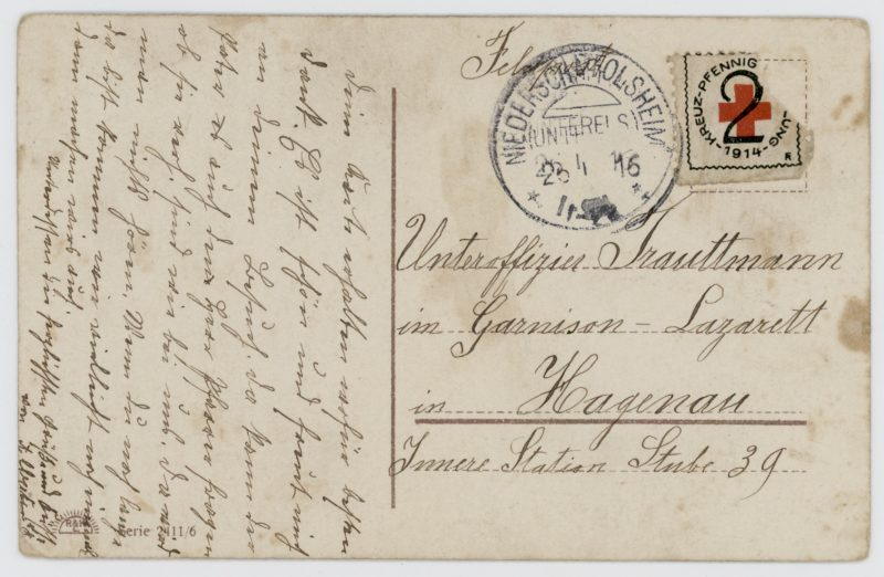 3 Cartes Ancienne Photographie - Guerre 14/18 - Armée Allemande - Morgenrot - Poème - Artillerie à Cheval