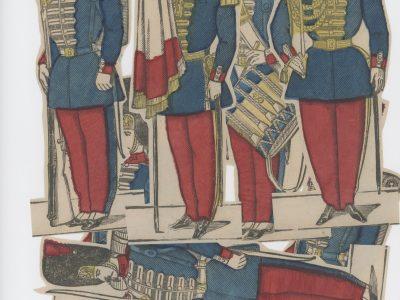 Planche imagerie Epinal - Pellerin Editeur - N°? - Grenadiers de la garde Impériale - Second Empire - Armée Française