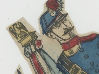 Planche imagerie Epinal - Pellerin Editeur - N°? - Mobiles - Second Empire - Armée Française