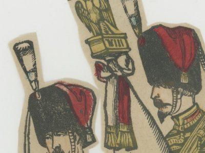 Planche imagerie Epinal - Pellerin Editeur - N°? - Guides de la garde Impériale - Second Empire - Armée Française