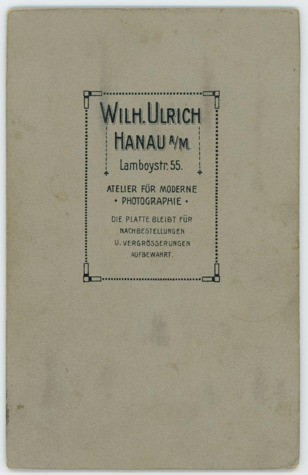 Ancienne Photographie - Grande CDV - Soldat Portrait - Service Militaire - Uniforme - Artillerie Garde - Prusse - Casque - Dienstzeit - Hanau