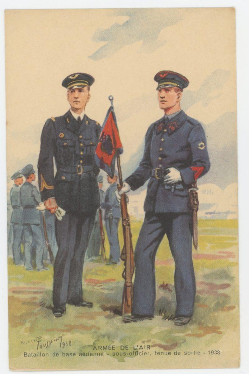 Carte Postale Illustrée - Maurice Toussaint - Edition Militaire Illustrées - Armée de l'air - 1940