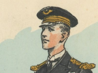 Carte Postale Illustrée - Maurice Toussaint - Edition Militaire Illustrées - Armée de l'air - 1940 - Officier mécanicien