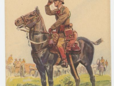 Carte Postale Illustrée - Maurice Toussaint - Edition Militaire Illustrées - Artillerie en Campagne - 1940