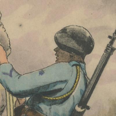 Carte Postale Illustrée - Edmond Lajoux - Edition Militaire Illustrées - Infanterie Alpine - 1930