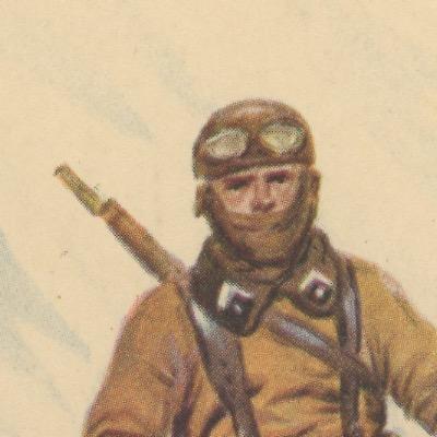 Carte Postale Illustrée - Maurice Toussaint - Edition Militaire Illustrées - Cavalerie Motorisée- 1940