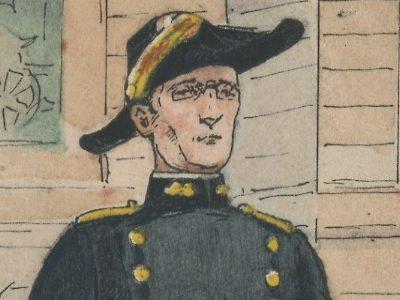 Carte Postale Illustrée - P.V Robiquet - Edition Militaire Illustrées - Ecole Polytechnique - 1930