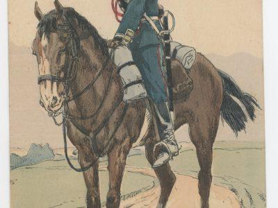 Carte Postale Illustrée - P.V. Robiquet - Edition Militaire Illustrées - Russie - Artillerie Garde Impériale 1914
