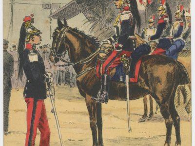 Carte Postale Illustrée - Maurice Toussaint - Edition Militaire Illustrées - Cuirassiers - 1914