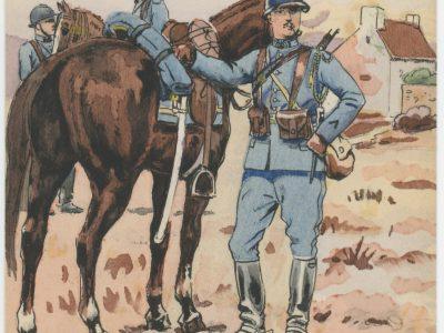 Carte Postale Illustrée - Pierre Albert Leroux - Edition Militaire Illustrées - Chasseurs à Cheval - 1930