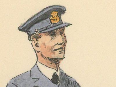 Armée Anglaise - Aviateurs Britannique - 1939 - Maurice Toussaint - Uniforme