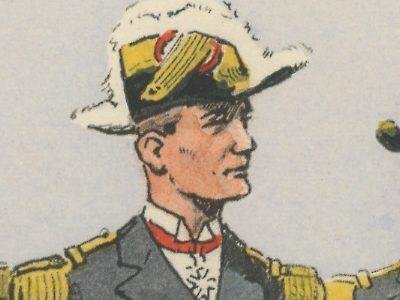 Carte Postale Illustrée - Maurice Toussaint - Edition Militaire Illustrées - Marine - Commandement - 1930
