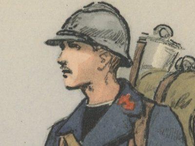 Carte Postale Illustrée - Maurice Toussaint - Edition Militaire Illustrées - Marine - Compagnie de débarquement - 1930