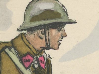 Armée Française - Artillerie - Tenue de Campagne - 1939 - Maurice Toussaint - Uniforme