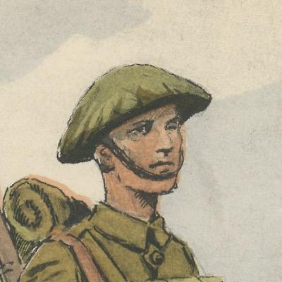 Armée Anglaise - Highlander - Tenue de Campagne - 1939 - Maurice Toussaint - Uniforme