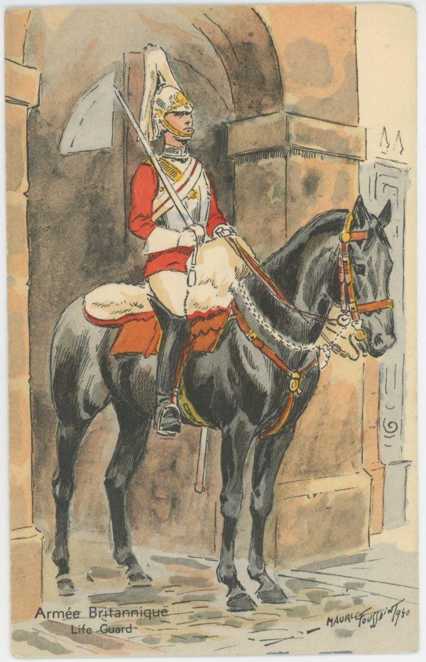 Armée Anglaise Life Guards - 1939 - Maurice Toussaint