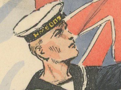 Armée Anglaise Marine Britannique 1939 - Maurice Toussaint - Uniforme - Matelot