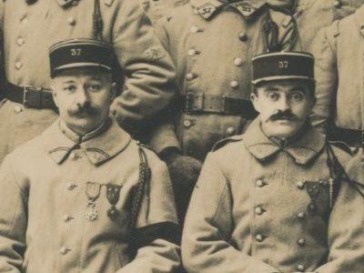 Photo papier originale - Infanterie - Uniforme - France - Armée Française - 37 régiment d'infanterie - 1933