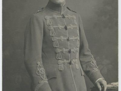 Carte Ancienne Photographie - Guerre 14/18 - Armée Allemande - Hussard - Alsacien - Conscription - Prusse