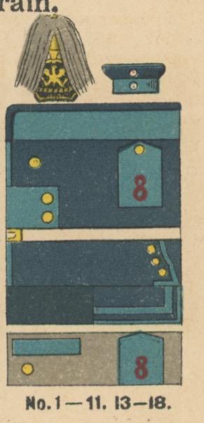 Carte Ancienne Photographie - Guerre 14/18 - Armée Allemande -15 Régiment du Train - Alsaciens - Conscription - Prusse Campagne 1914/1918
