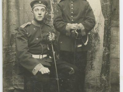 Carte Ancienne Photographie - Guerre 14/18 - Armée Allemande - 15 Régiment du Train