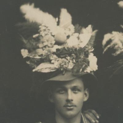 1 Carte Photo papier originale - Conscription Classe - Conscrit militaire - Soldat - drapeau - Tirage au sort - Alsacien/Lorrain - Folklore