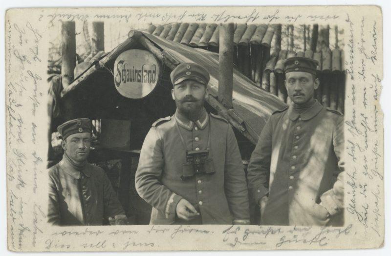 Carte Ancienne Photographie - Guerre 14/18 - Armée Allemande - 28ème Landwehr Infanterie - Prusse / Alsaciens - Conscription - Prusse Campagne 1914/1918 - Camp