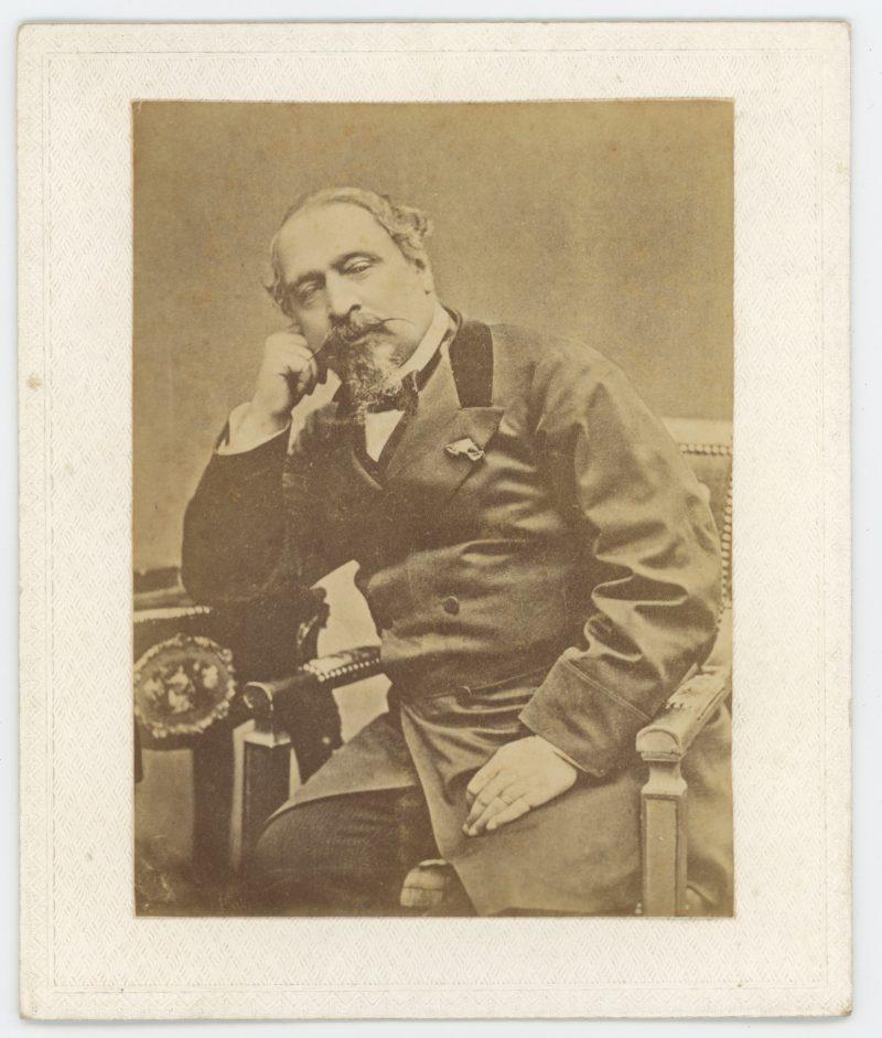 Photo Albuminée - Napoléon III - Empereur - Second Empire - Charles Louis Napoléon Bonaparte - Famille Impériale