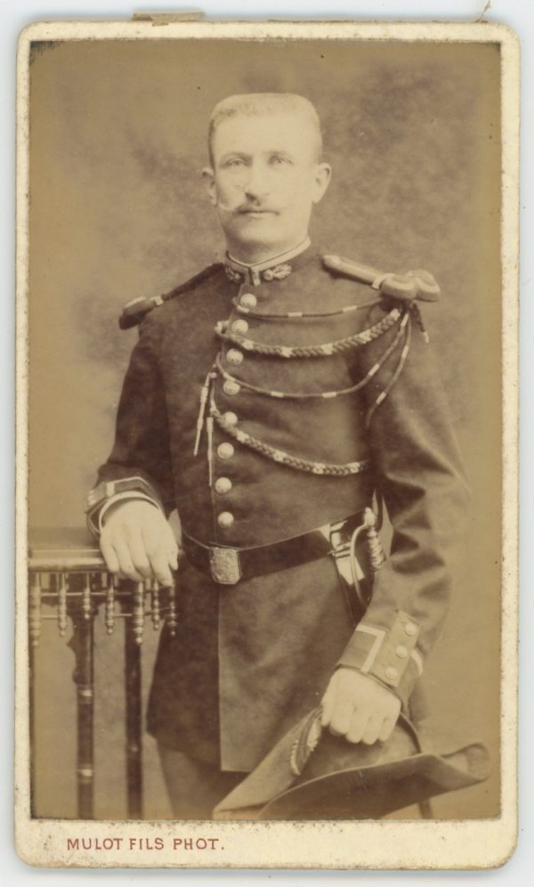 CDV Soldat Français - Gendarmerie - 3ème République - Cabinet Photo - Mulot Fils - Paris