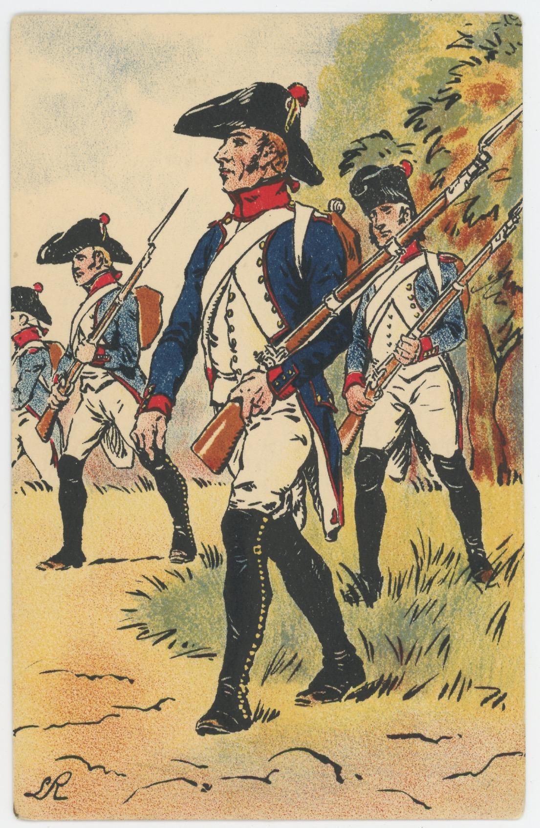 Lot 13 Cartes Postales Illustrées - Lucien Rousselot - Edition Musée de l'Armée - Historique uniforme - 1er Empire - Garde Impériale
