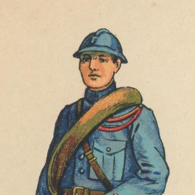 51 Petits Soldats Papier - Infanterie Ligne 1916/1918 - Planche Pro Fracia - Uniforme - Guerre 14/18 - jeu