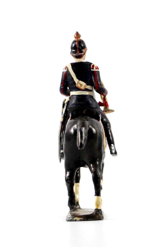 Figurine CBG MIgnot - Trompette - Soldat Prussien - Uniforme - Casque à Pointe