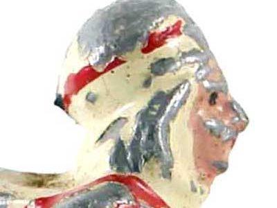 Figurine Plomb Creux ancienne Spahis 1940