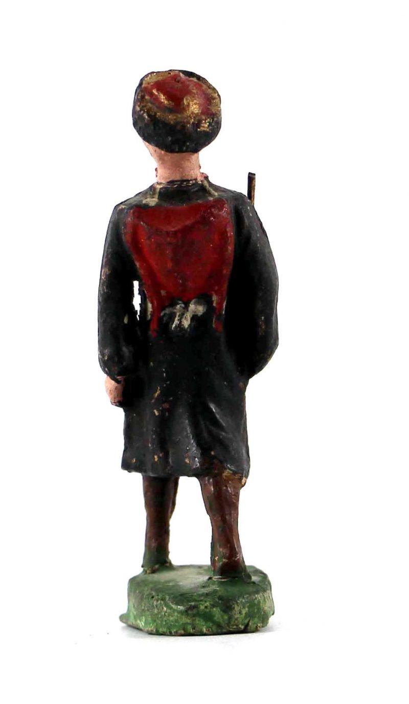 Ancienne Figurine en composition - Cavalier - Tcherkesse - Uniforme - Russe