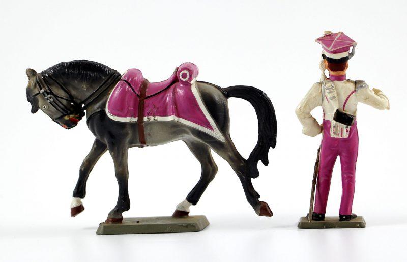 Figurine Starlux 1er Empire - Lancier de Berg - Cavalier - Plastique