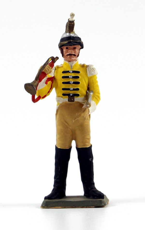Figurine Starlux 1er Empire - Trompette de Cuirassier