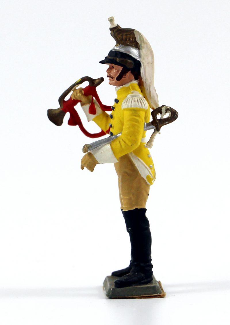vFigurine Starlux 1er Empire - Trompette de Cuirassier
