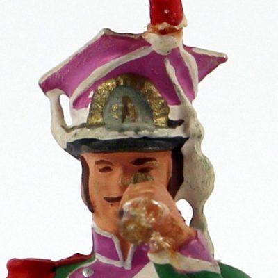 Figurine Starlux 1er Empire - Lancier de Berg - Observation -
