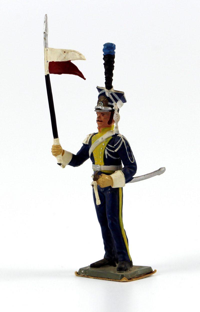 Figurine Starlux 1er Empire - Lancier de la vistule 1808 - Lancier - Cavalier - Plastique
